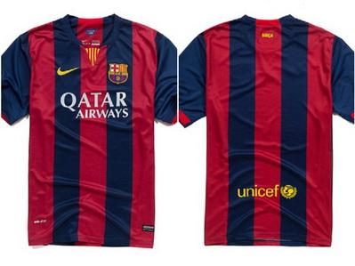 Comprar nueva camiseta del barcelona 2014-2015  bd4f77f294f